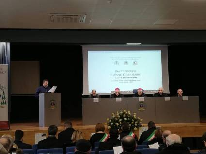 INAUGURAZIONE DEL III ANNO GIUDIZIARIO DEL TRIBUNALE ECCLESIASTICO INTERDIOCESANO (Sessa Aurunca 2019)