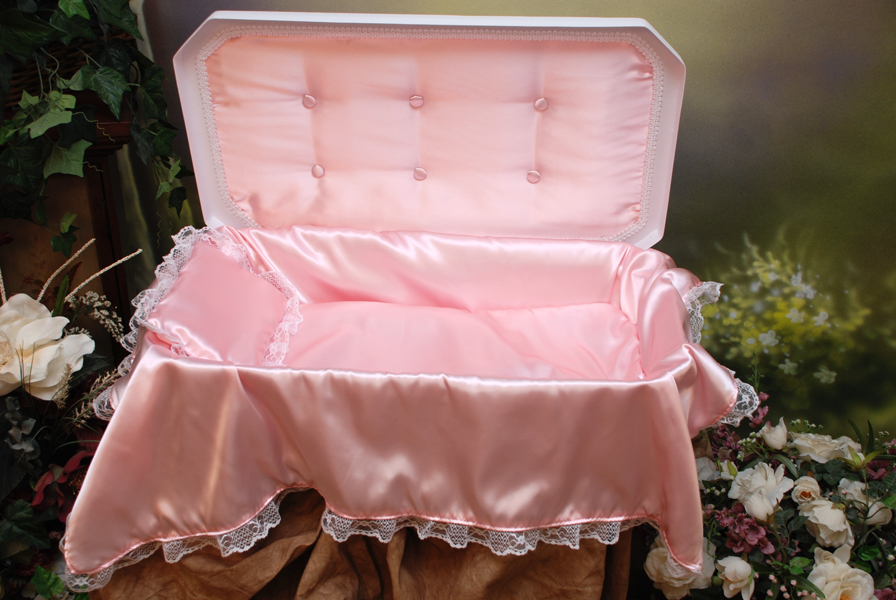 Image result for baby girl casket