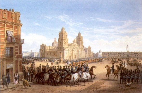 Resultado de imagen para carcel ciudad de mexico 1830
