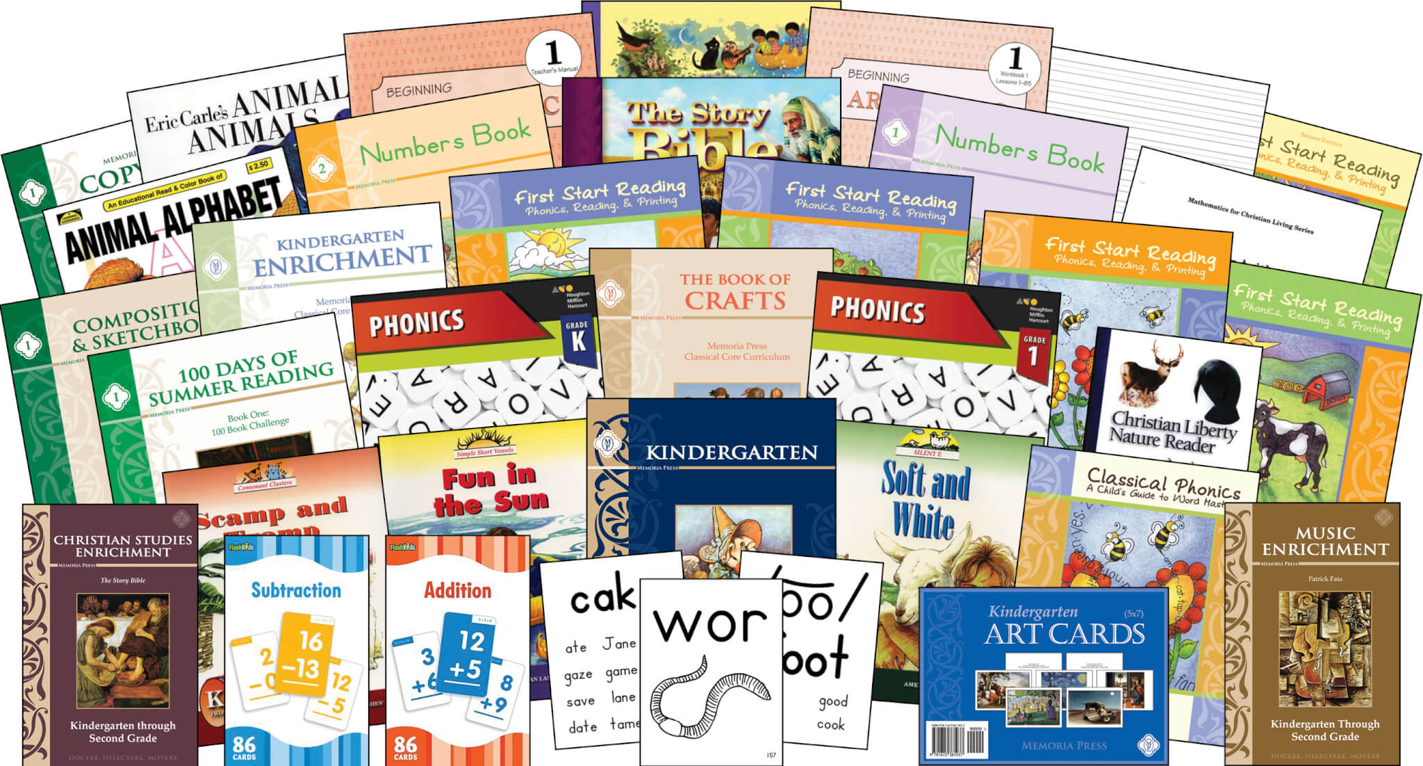 Kindergarten Curriculum Memoria Press