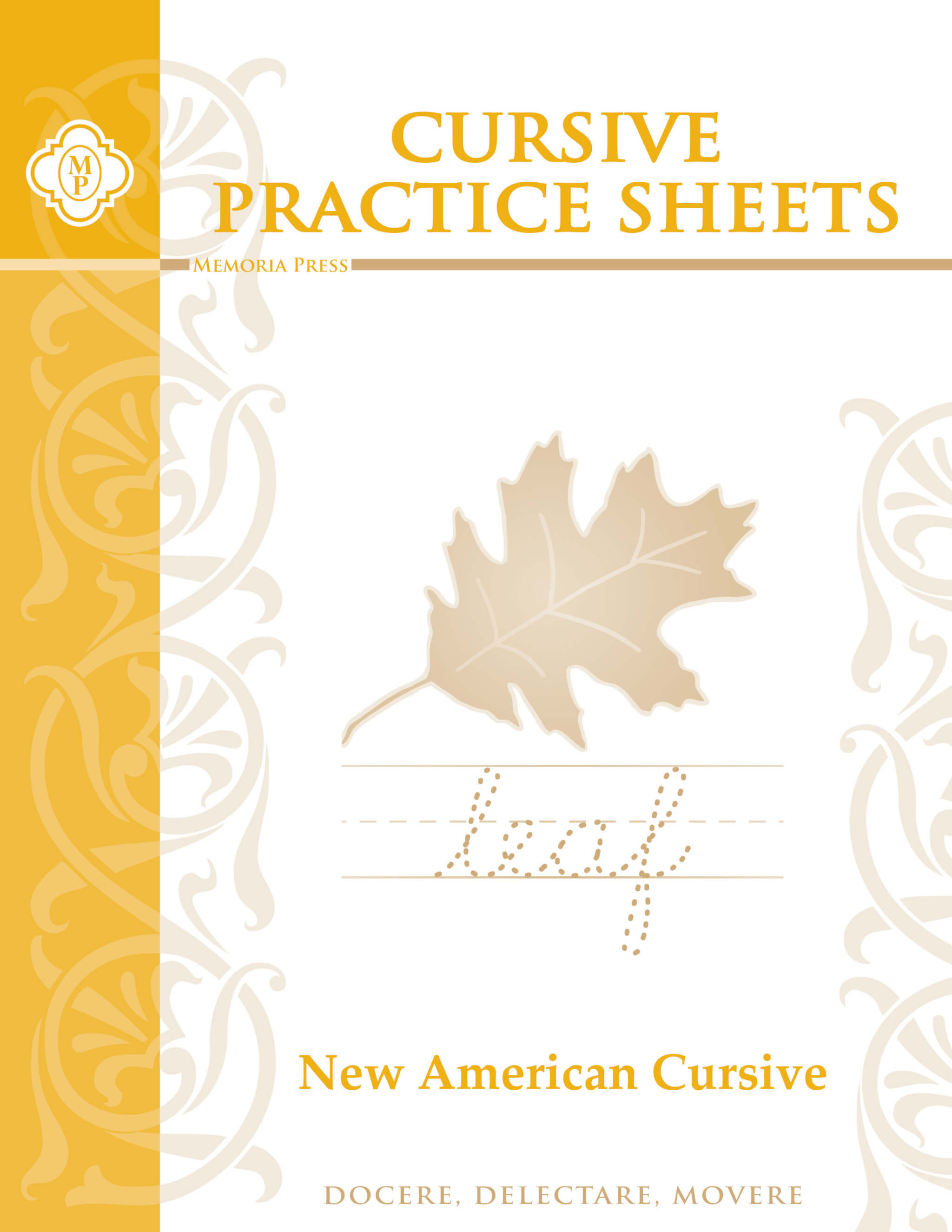 Cursive Practice Sheets Memoria Press