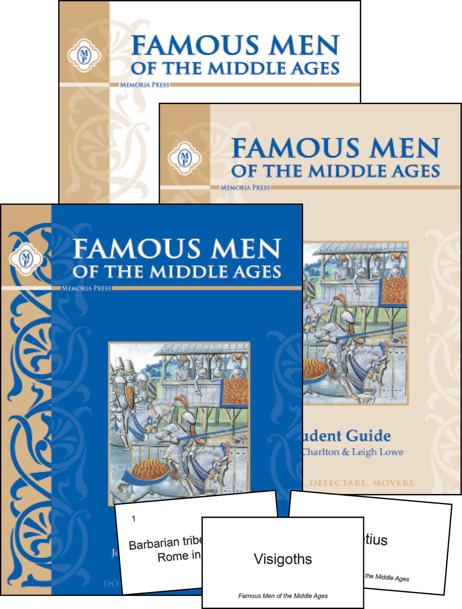 Famous Men Of The Middle Ages Set