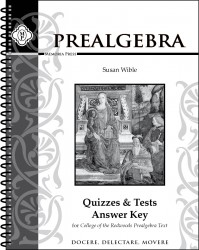College of the Redwoods Pre-Algebra Solutions Manual