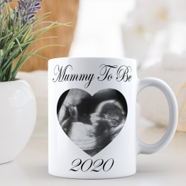Mummy To Be 2020 Baby Scan Mug 3 - Mummy To Be (Baby Scan) 2020 Mug Gift