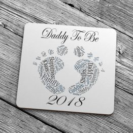 Daddy To Be DTB101 2018 Coaster - I Love My Mummy Coaster