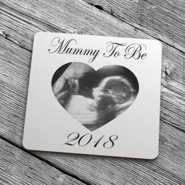 Mummy To Be Baby Scan Year Coaster 2018  - Mummy To Be 2019 Baby Scan Coaster Gift