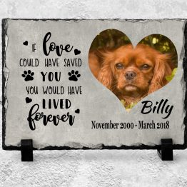 Slate Mockup - Pet Memorial Slate Plaque
