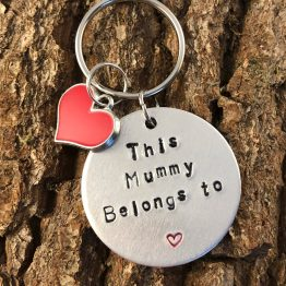 IMG 5172 - This (Family Member Name) belongs to handstamped keyring