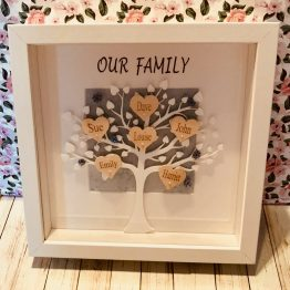 IMG 0720 - Personalised Black Tree Our Family Frame
