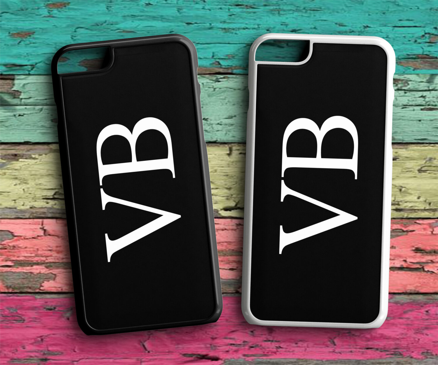 910a3a4496d Personalised Side Ways Initial Name Wedding Phone Case ...