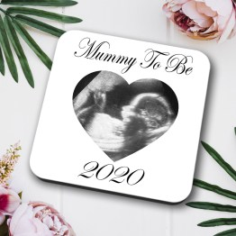 Mummy To Be 2020 Baby Scan Coaster Square Hardboard 3 - Mummy To Be 2020 Baby Scan Coaster Gift