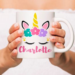 Personalised Unicorn Mug e1539877502251 - Personalised Name Unicorn Mug