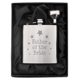 NP0102E14 1 - Father of the Bride Hip Flask