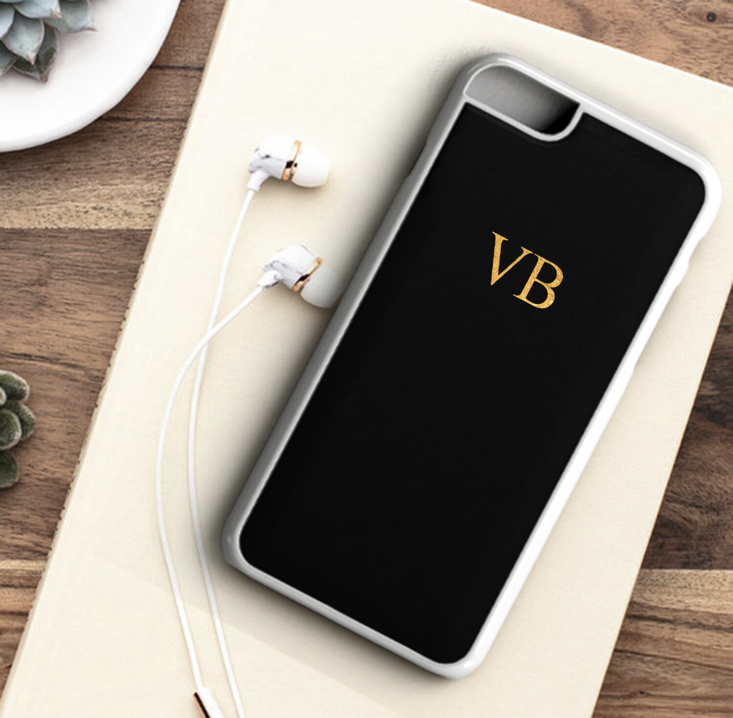 brand new 9a893 94baf Personalised Initial Wedding Phone Case