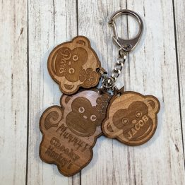 mummys cheeky monkeys - Personalised Cheeky Monkey Keyring