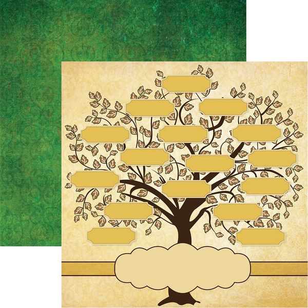 We may earn commission on some of the items you choose to buy. Family Tree Family Tree Scrapbook Paper