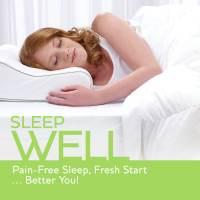 Sleep Innovations Cool Contour Memory Foam Pillow