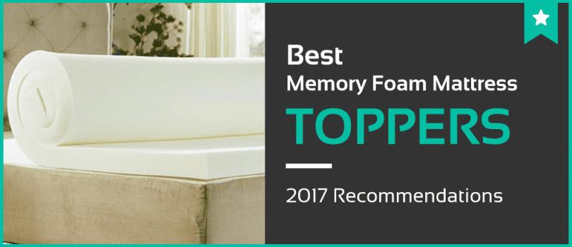 1 Best Memory Foam Mattress Toppers  Jan 2018  Reviews  Ratings