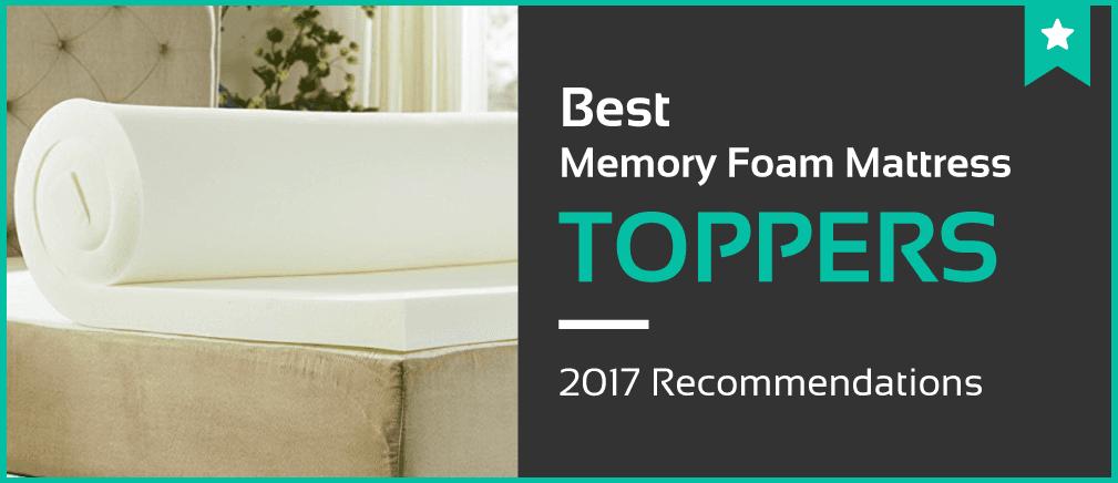 1 Best Memory Foam Mattress Toppers  Jan 2018  Reviews