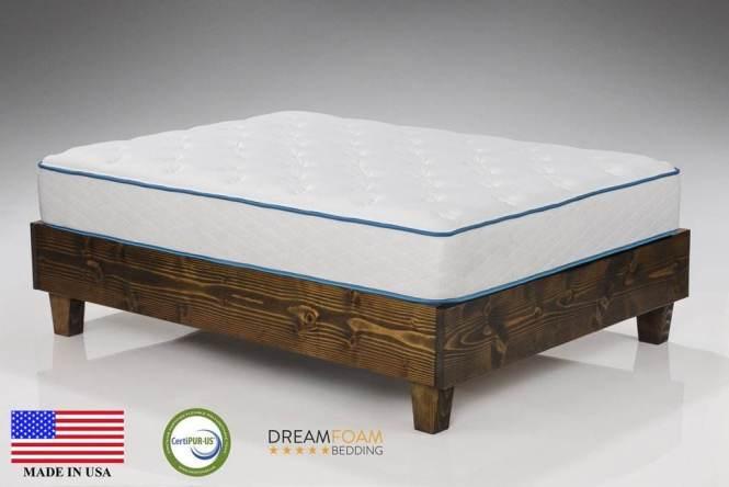 Dreamfoam Bedding Artic Dreams 10 Inch Mattress
