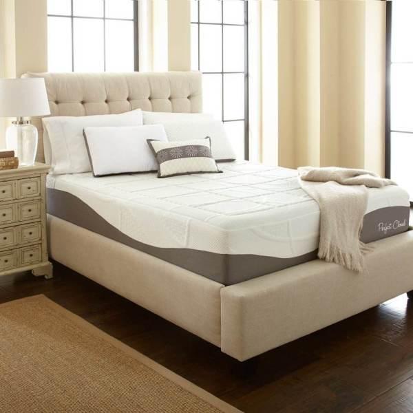 Perfect Cloud Elegance Gel-pro 12 Memory Foam Mattress Rx Restful Sleep