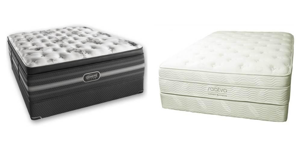 Saatva versus Beautyrest  Your RX For Restful Sleep