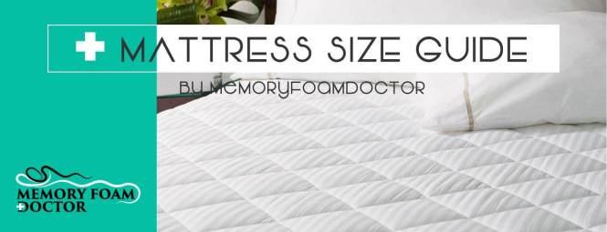Mattress Size Chart Ultimate Dimensions
