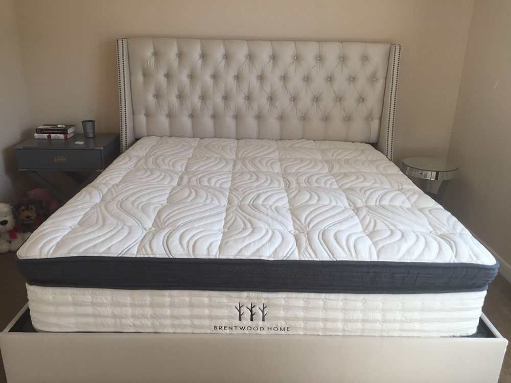 Brentwood Home Oceano Mattress Review  Brentwood Home