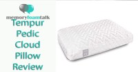Tempur Pedic Cloud Pillow Review