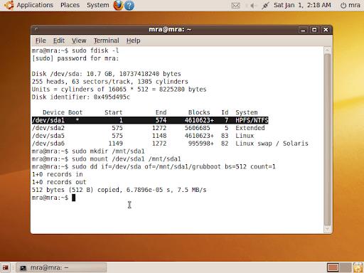 Let Windows Bootloader reload GRUB2 for Ubuntu   Memory Lack