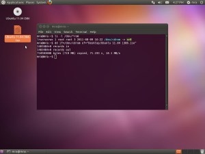 Convert CD/DVD ROM to ISO file in Linux