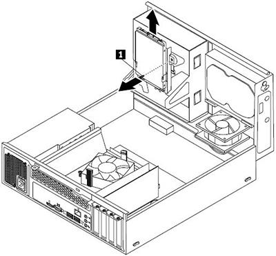 lenovo SSD mounting bracket SSD bracket installation