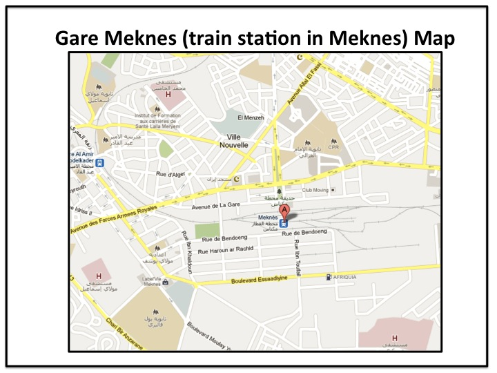 How to get from Meknes to Rabat by train – Memory Point – Your Point