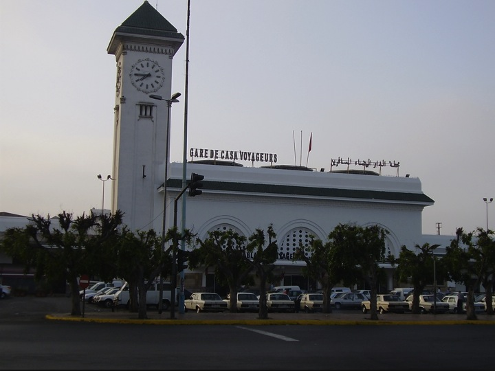 Gare de Casa Voyageurs, Casablanca, Morocco (picture courtesy of Google Images)