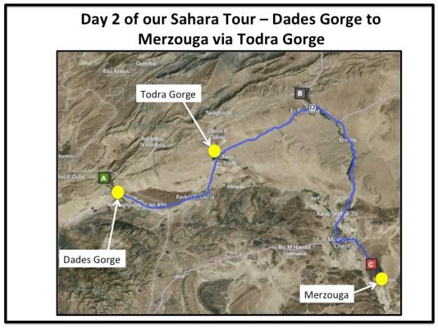 Sahara Tour Day 2 of our Sahara Tour – Dades Gorge to Merzouga via Todra Gorge