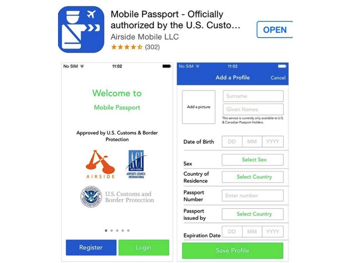 Information about getting and using the Mobile Passport for both the Apple iOS and Android Operating Systems can be found by clicking on the picture above.