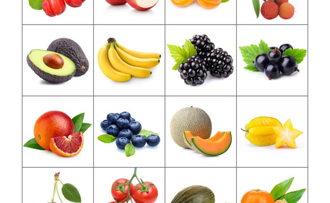 Free Printable Memory Game For Kids Fruits And