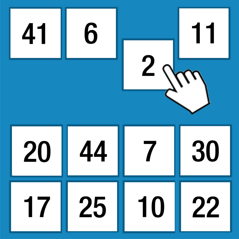 Online Memory Game Grid Of Numbers