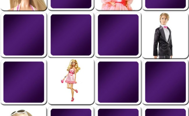Play Memory Game For Kids Barbie Online And Free Game
