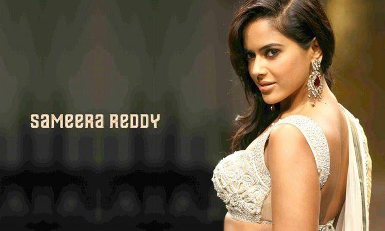 Bollywood and Kollywood Star Sameera Reddy Wallpaper