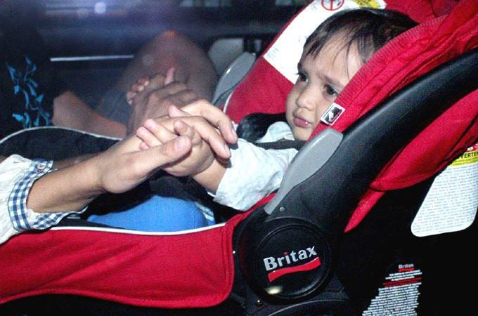 Celebs At Aamir Khan Son Azad First Birthday