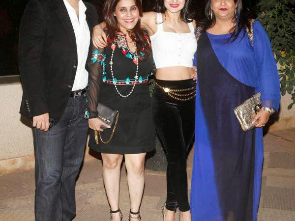 Celebs Welcome New Year With Zest At Sanjay Dutt Residence