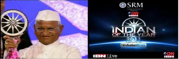 Indian Of The Year 2011 – Anna Hazare