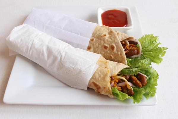 Yummy and Healthy Rajma Wrap Recipe