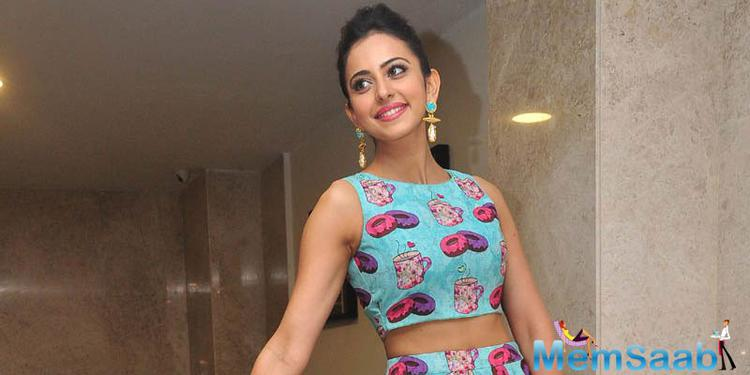 Rakul Preet Singh Photo Shoot On 1st June 2015
