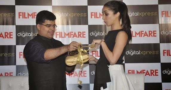 Shraddha Kapoor Launched September Issue Of Filmfare Magazine