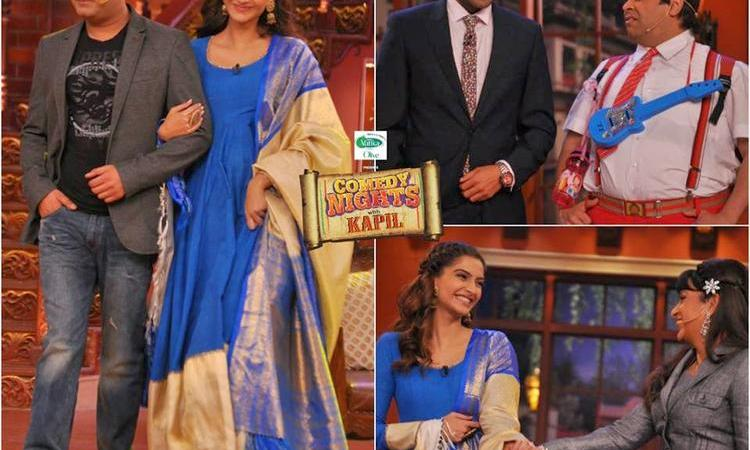 Bewakoofiyaan Team On The Sets Of Comedy Nights With Kapil Show