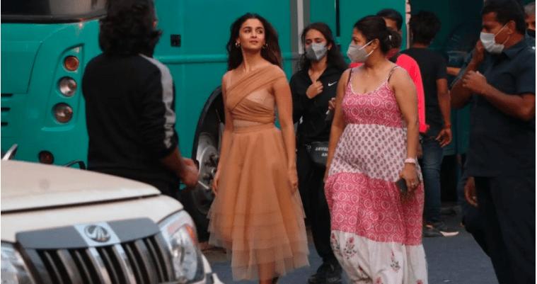 RRR First Look: Alia Bhatt as Sita is beauty personified