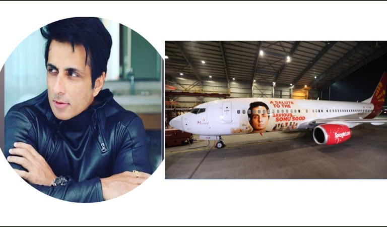 Sonu Sood becomes first Indian actor to have a special livery dedicated to him by domestic airline