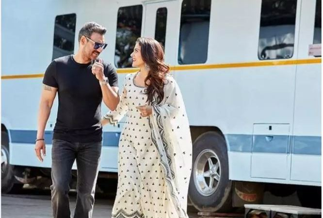 Ajay Devgn promises wifey Kajol that he will click the 'long-overdue selfie soon' on his birthday